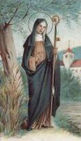 St. Gertrude, Patron Saint of Cats